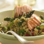 Salmone e Quinoa per il post workout